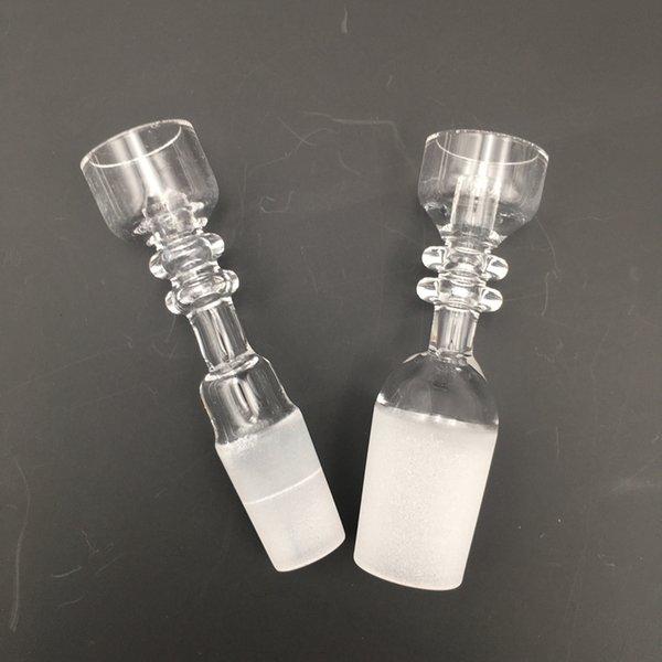 14.5mm 18.8mm Maschio Joint Chiodo al quarzo 100% reale per olio Rigs Dab Bong Chiodo al quarzo di alta qualità Accessori per fumatori RQB03-04