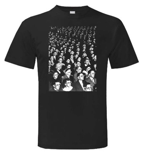 Society of The Spectacle T-Shirt Guy Debord X-Ray Spex Print T Shirt Fashion Short Sleeve Letter Top Tee Trend
