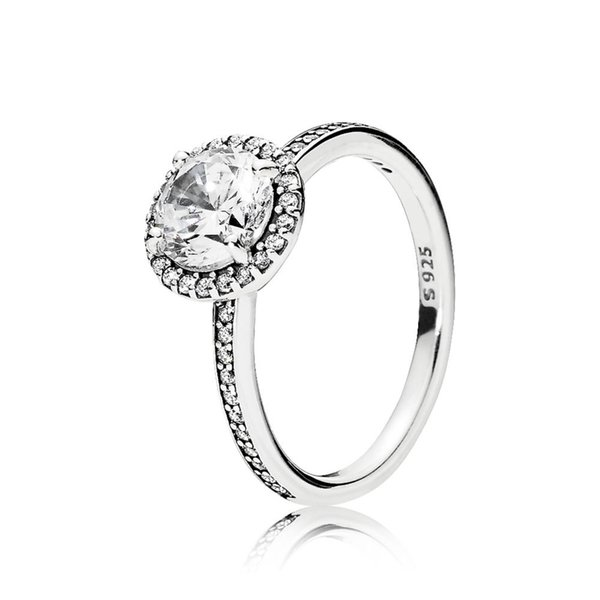 FAHMI 100% 925 Sterling Silver 1:1 Original Authentic Charm 196250CZ Temperament Fashion Glamour Retro Ring Wedding Women Jewelry