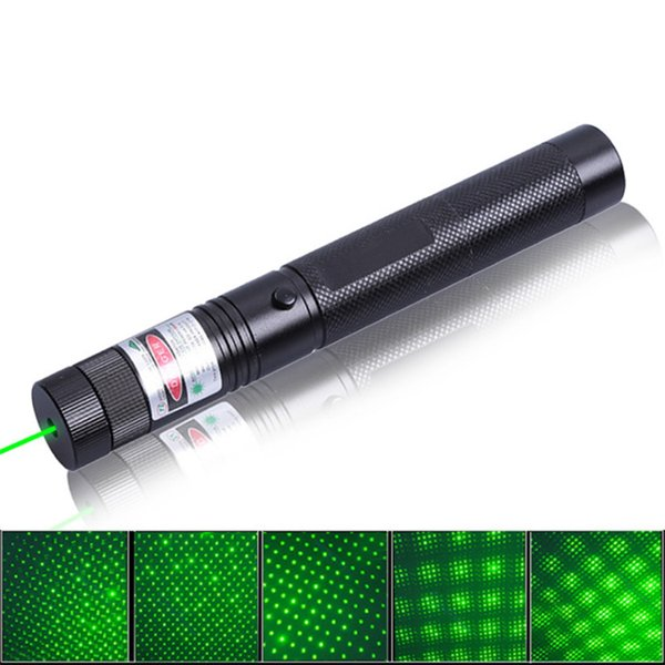 High Quality 532nm 303 SDLaser Green Laser Pointer Pen Torch visible beam Keys + Charger Free shipping