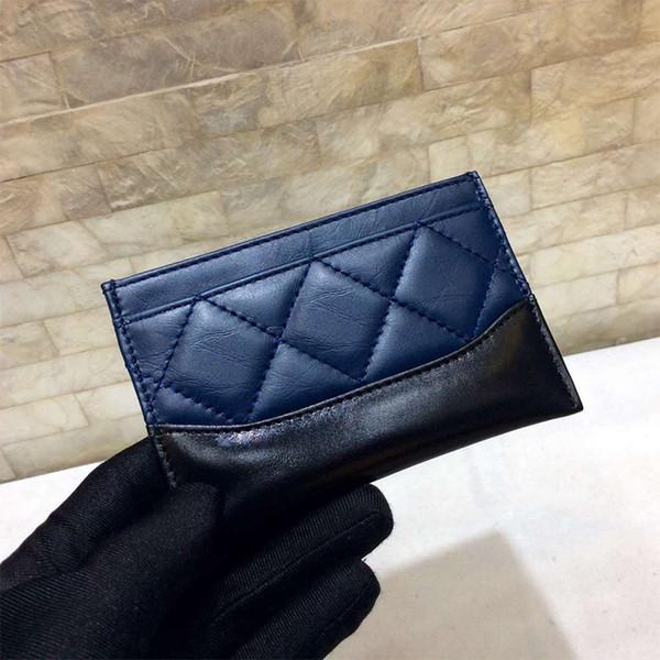 Qualität damenmode wandern geldbörsen aus echtem leder schaffellCard halter mini tasche geldbörsen 2018 weibliche münzfach geldbörse mit box