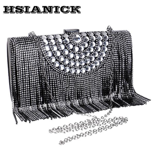2017 Top Tag Clutches Diamanten Frauen Frau Neue Europäische Und Amerikanische Luxus Bankett Braut Tasche Handtasche Exquisite Abend Kupplung