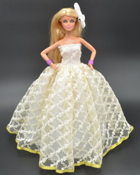 The new princess for doll dress toys girls toys original doll clothes gift single bridal gifts girl