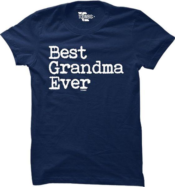 2018 New Fashion Man Best Grandma Ever - Mother's Day Womens T-Shirt Cartoon tee shirt homme high quality top tees