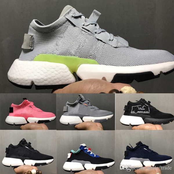 2018 Pod S3.1 Men Running Sheos Off Jointly White Stretch Mesh Fabric Breathable Sports Sneakers Originals Pod S3.1 Light Women Dad Shoes Shoe Shops