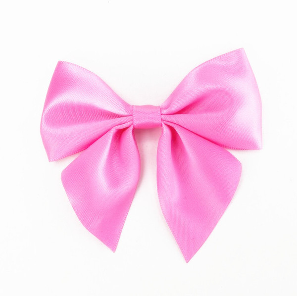 100pcs free shipping Pre made Bow Paper Favour Bow Bag Pillow DIY Wedding Table Gift Decor Bow