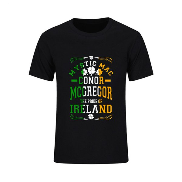 The Notorious Conor Mcgregor Letters Men T Shirt Fashion Casual Funny Shirt For Man Top Tee Hipster Streetwear Hip Hop Teeshirts