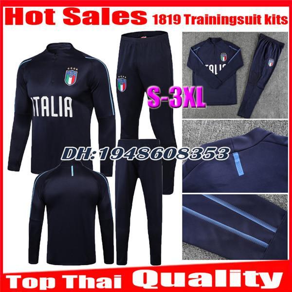 2018 2019 Италия Тренировочный костюм тренировочный костюм футболка Camisa Totti Pirlo Insigne Del Piero Футбольные майки Italia Футбол Camiseta