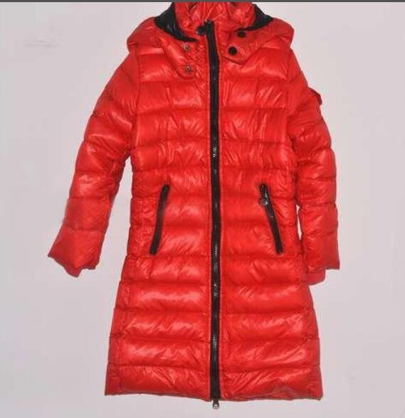 2018 Winter Long to keep warm Down jakcet M Down Coat Hooded Waist 95% Thick Duck outerwear children's Warm Clothes