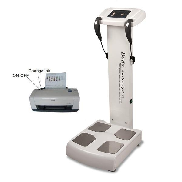 2018 профессиональный анализатор жира / анализатор состава тела / анализатор элемента тела анализатор элемента тела включен принтер A4 бесплатная доставка