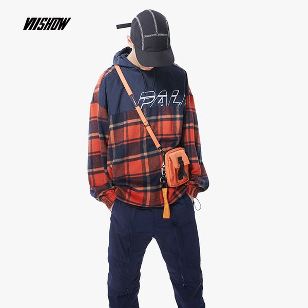 VIISHOW New 2018 Autumn Hooded Jacket Men Pocket Zipper Slim Fit Thin Windbreaker Coats High Quality Brand Clothing JC1895183