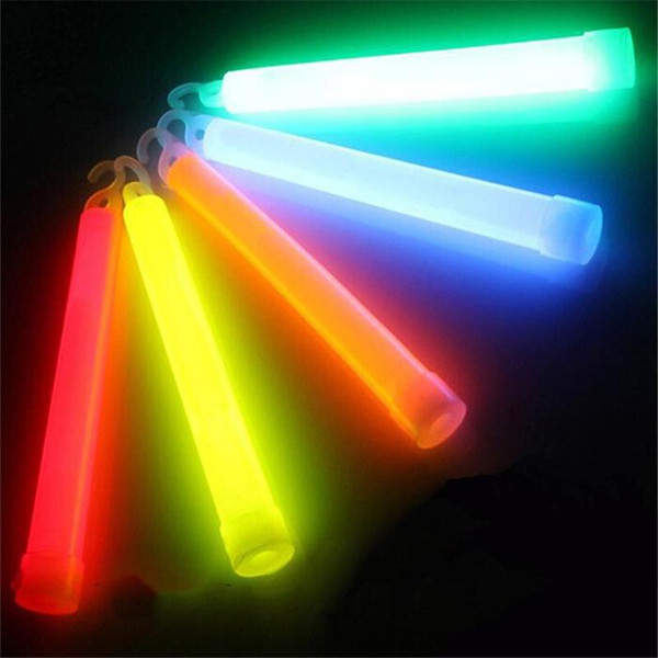 5pcs 6inch multicolor Glow Stick light stick Camping Emergency decoration Party clubs supplies Chemical Fluorescent