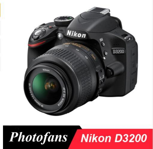 Nikon D3200 Dslr Camera -24.2MP -1080P Video The cheapest Nikon DSLR Camera Brand New High-end image Clear camera Clear picture