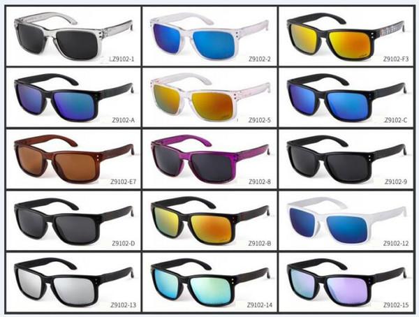 VERÃO mais novo homem polarizada masculino cor filme óculos de sol mulher ciclismo drving óculos óculos de sol dos homens senhoras óculos de desporto frete grátis