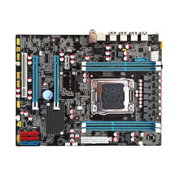 Freeshipping X79 материнская плата процессор RAM комбо LGA2011 REG ECC C2 DDR3 4 канала поддержка E5-2670 I7 шесть и восемь основных процессора памяти 16G