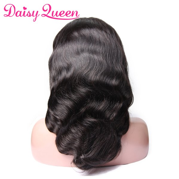 8A Pre Plucked Full Lace Wigs Brazilian Body Wave Peruvain/Malaysian Virgin Human Hair Wigs For Black Women Natural Hairline With Baby Hair