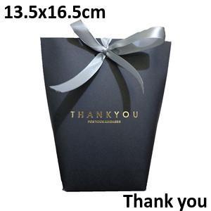 Black Thankyou13.5*16.5cm