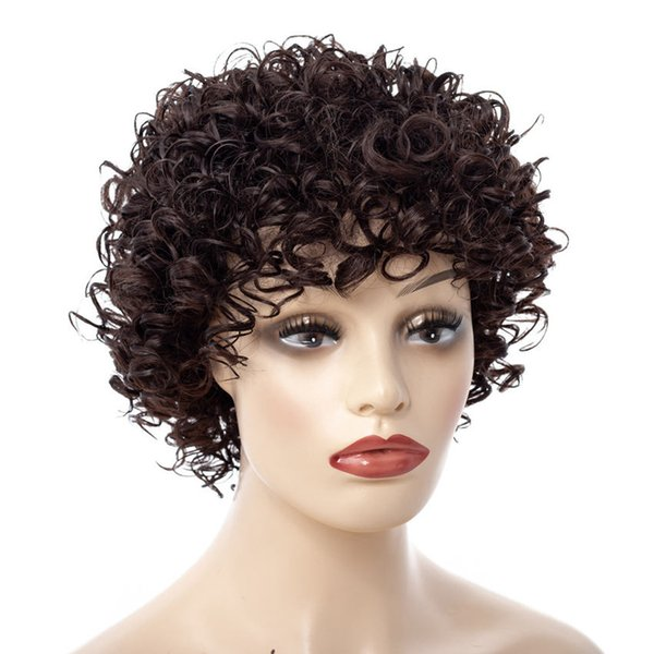 Sara Lady Women Kinky Deep Curly HairWig Glueless Full LaceWigs & Lace FrontWigs Hairpiece Curly Hair Pieces ;8 Styles