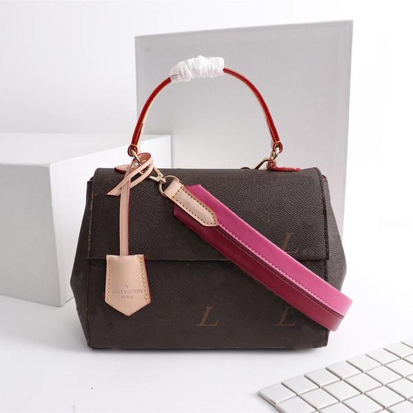 Mode Taschen Frauen CLUNY BB Handtasche Luxusmarke Frau Designer Umhängetasche Größe 28 * 20 * 10CM Modell M42738