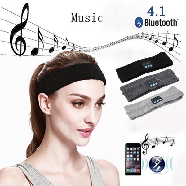 Smart Bluetooth sport yoga dance headband Hat Wireless Headphone Headset hands free Speaker Mic new woman men