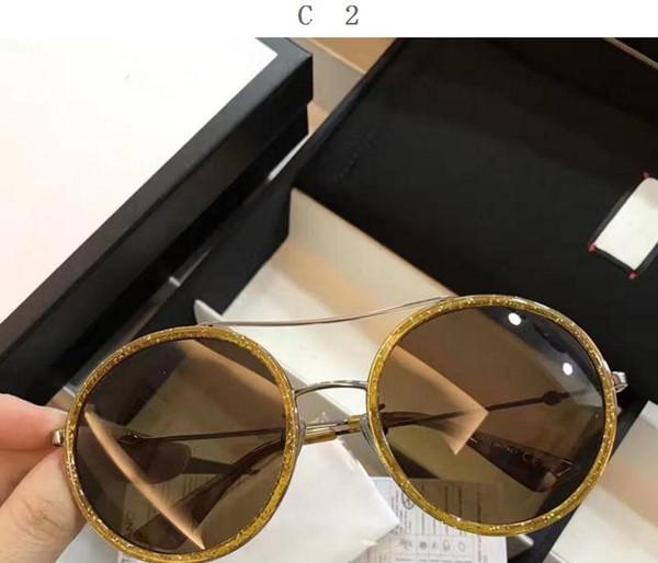 Compre Gafas De Sol De Lujo G0061 Mujeres Diseñador De La Marca 0061 ...
