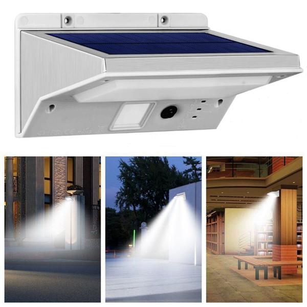 Solar Motion Sensor Lights Outdoor Super Bright 21 LED Solar Powered Security Lights Waterproof Wall Light 3 Modes Motion for Patio Garden