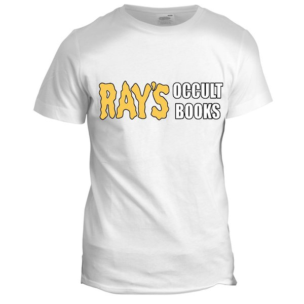 Rays Occult Books Inspired GhostBusters Tumblr Film Movie 90s 80s T Shirt