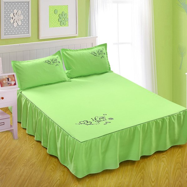 Green Bed Skirt Queen.Apple Green Bed Skirts Solid For Bedroom Dorm St23 Bedding Covers Bedspread Jayhome Sanding Mattress Protector Bed Sheets Bedskirt King Dust Ruffles