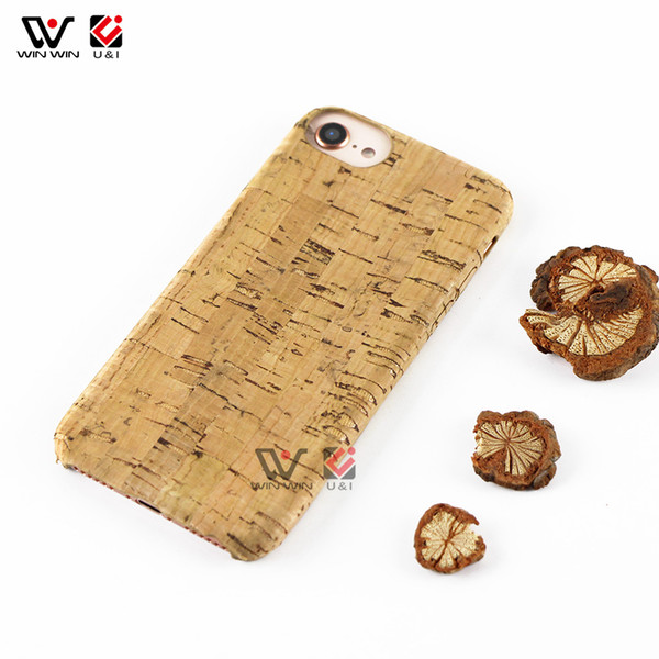 Best Cork Wood Blank Back Custom Design Wooden Mobile Phone Case For iPhone 6 7 8Plus X XS Max For Samsung