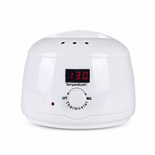 Rebune LED Paraffin Heater Wax Warmer Pot 110V/220V 500ml Pro Hair Remover Machine Mini Hair Removal Care Tool