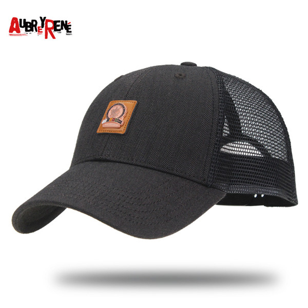 Summer Refined Badge Hats Men Baseball Comfortably Breathable Outdoor Hip Hop Casquette Camouflage Mesh Cotton Caps Trucker 12 9xj hh