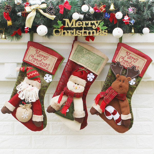 Luxury Christmas Stockings Uk.The New Christmas Socks Gift Bags Christmas Decorations Large Luxury Christmas Stockings Gift Candy Socks New The Christmas Shoppe Ornaments Top