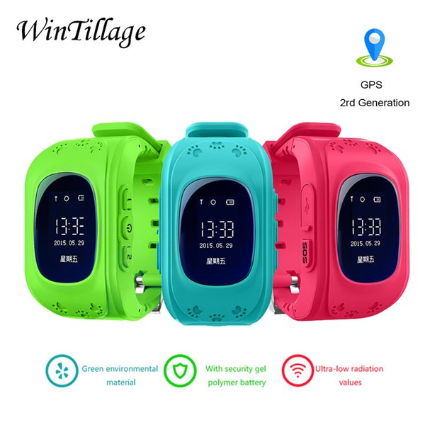 Q50 GPS Kids Smartwatch Baby Watches for Children SOS Call Location Finder Locator Tracker Anti Lost Monitor smart watches