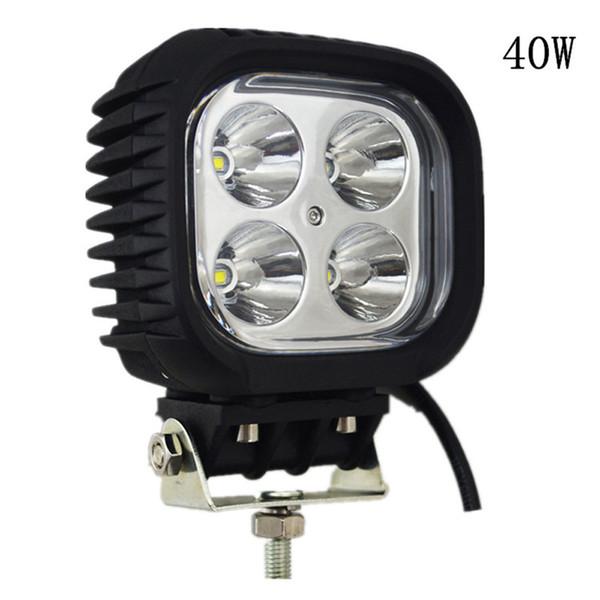 """5"""" inch 40W 3500 Lumens Cree LED Work Auxiliary Light for 12V 24V RZR 4x4 Off Road UTV ATV Led Fog Lamp"""