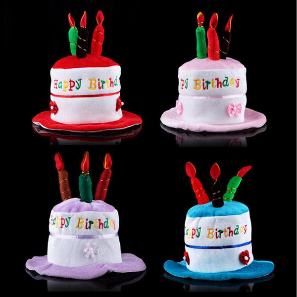 Christmas Birthday Cake.New Cute Birthday Cake Hat Kids Adults Cake Candle Cap Boys Girls Head Hoop Birthday Hats Party Christmas Birthday Party Hats For Cats Birthday Party