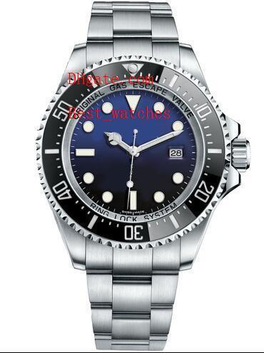 Factory Supplier Luxury ceramic bezel stainless steel d-BLUE seadweller 116660 44mm Automatic Mechanical Mens Men's Watch Watches