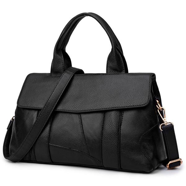 2017 New Genuine Leather Bags Women High Quality Cowhide Women Handbags Designer Shoulder Bags Ladies Sac Femme