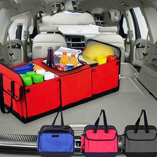 Le borse di immagazzinaggio del veicolo pieghevole multi contenitore di immagazzinamento dell'automobile del tessuto dell'organizzatore del camion dell'automobile del compartimento con il dispositivo di raffreddamento e l'isolamento WX9-803