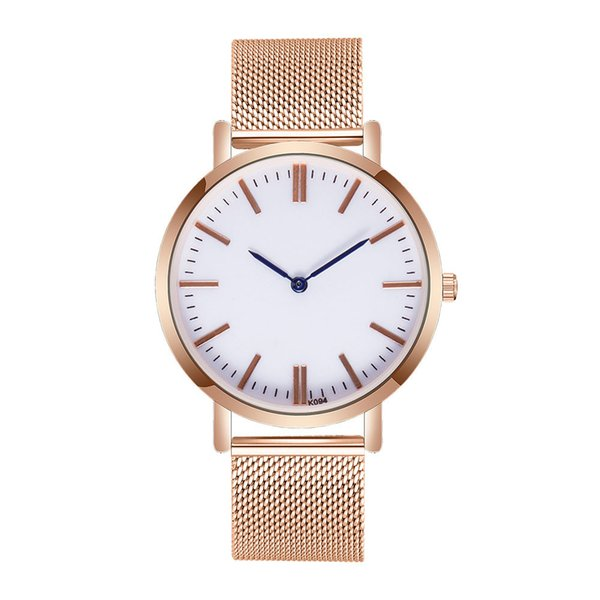 womans watch ladies Man female watches Crystal Stainless Steel high quality Analog Quartz Wrist Watch dropshipping top selling