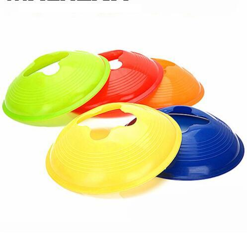 Soccer disc Cones 20cm Multi color Cone for Agility Training Soccer Football Kids Field Flower Pattern Marker Outdoor Sport Game Toys