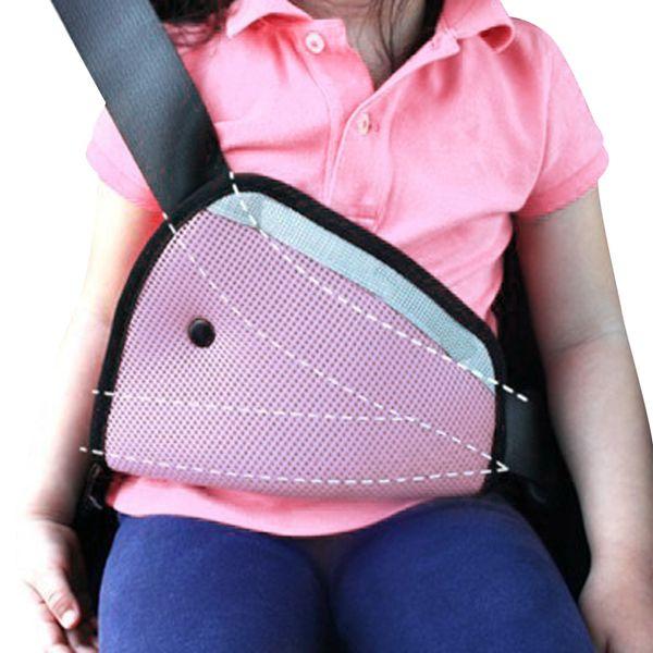 top popular Car Safety Seat Belt Padding Adjuster For Children Kids Baby Car Protection soft pad mat Safety seat belt strap cover4 Color 2021