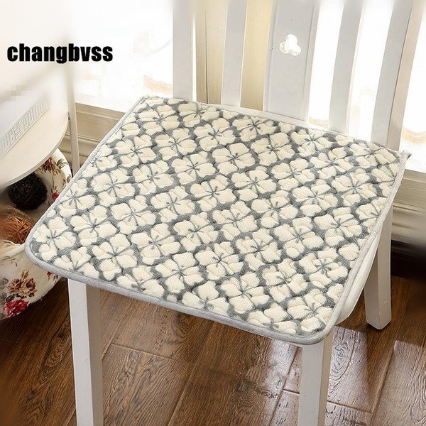 Hot Sale 40x40cm Cheap Floor Chair Cushion Car Mat Kitchen Chair Cushions Sofa Mat Modern Dining Seat Cushion almofada cojines