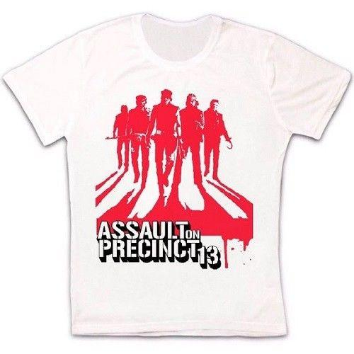 Assault On Precinct 13 70s Cult Action Movie Retro Vintage Unisex T Shirt 1230 O-neck Fashion Printed mens Cotton T-shirt
