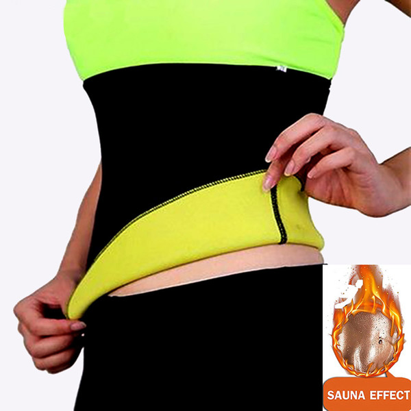New Women Adult Solid Neoprene Healthy Slimming Weight Loss Waist Belts Body Shaper Slimming Trainer Trimmer Corsets Large Size