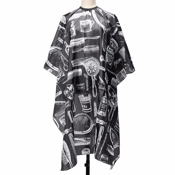 Adult Salon Barbers Hair Cutting Cape Hairdressing Hairdresser Gown Clothes New Men Women Metal Faux Leather New Capes Fashion