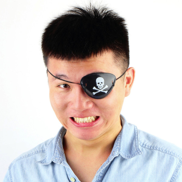 Pirate Skull Eye Patch Skull Crossbone Fiesta de Halloween Bolsa de disfraces Niños máscara de juguete
