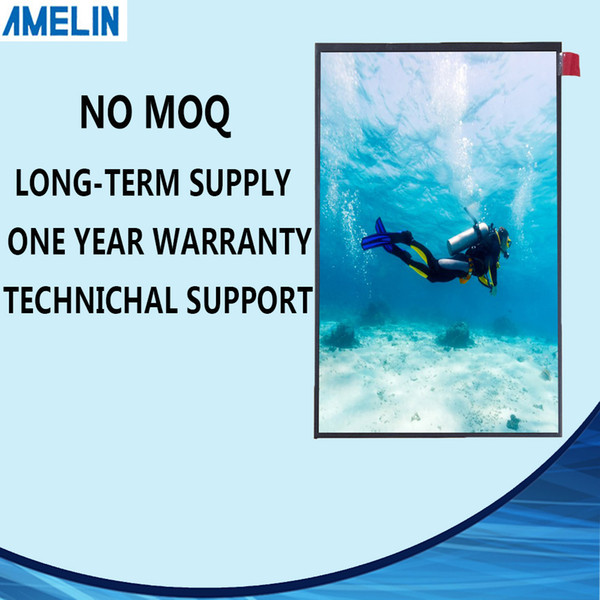 Free shipping 8 inch high resolution 800*1280 TFT LCD Module Screen with MIPI interface display and IPS viewing angle