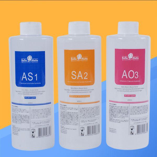 100 outh korea import hydrafacial machine u e aqua peeling olution 400ml per bottle aqua facial erum hydra facial erum for normal kin