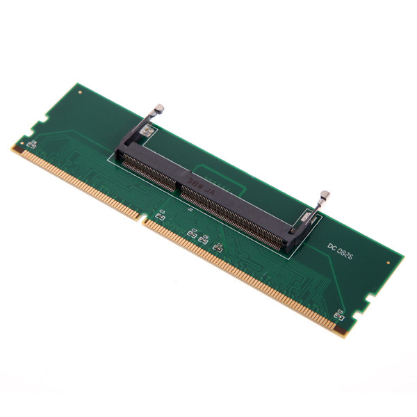 VKTCH New 1pc DDR3 Laptop SO-DIMM to Desktop DIMM Memory RAM Connector Adapter DDR3 1.5V 240 Pin Desktop DIMM Male Connector