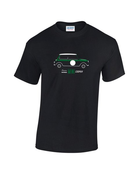 Tee shirt Imprimé Hommes Mini Racing Classic Car Green Racing